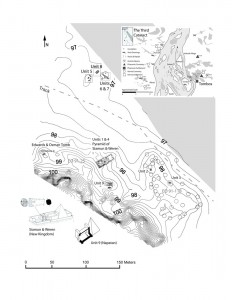 Tombos Site Map